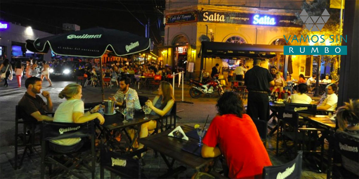 Calle Balcarce Salta Capital