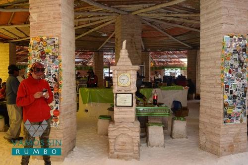 Primer Hotel de Sal dentro del Salar