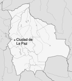Mapa de La Paz